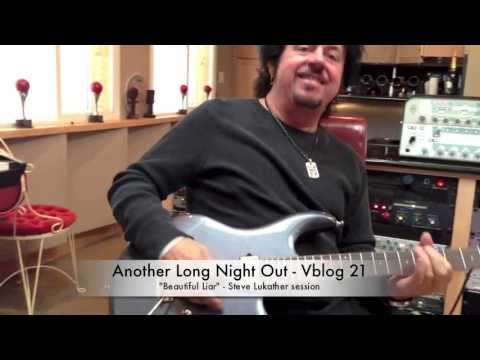 """Brian Culbertson's """"Another Long Night Out"""" Vblog 21 - Steve Lukather"""