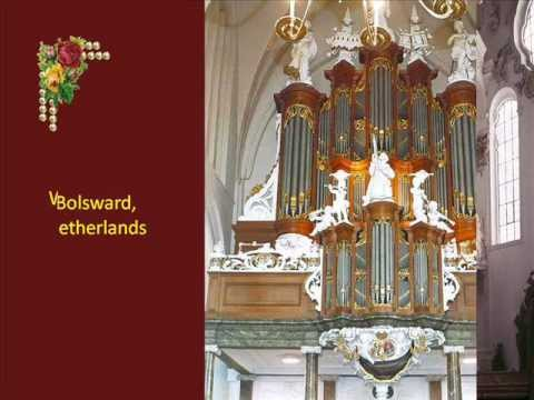 Church organs in Europe.