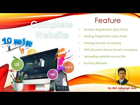 Free domain and hosting | How to upload basic Html website on Internet | by Md Jahangir Adil