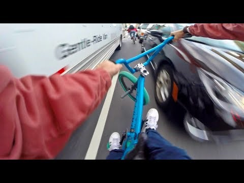 BMX Traffic Hits: CANAL STREET, NYC ep.1