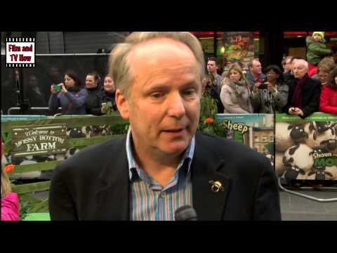 Nick Park Red Carpet Interview at Shaun the Sheep: The Movie Premiere