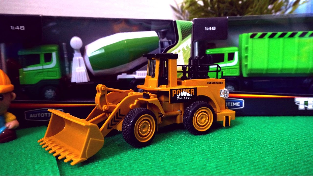 Toy Dump Trucks For Boys : Toys trucks for kids dump truck concrete mixer