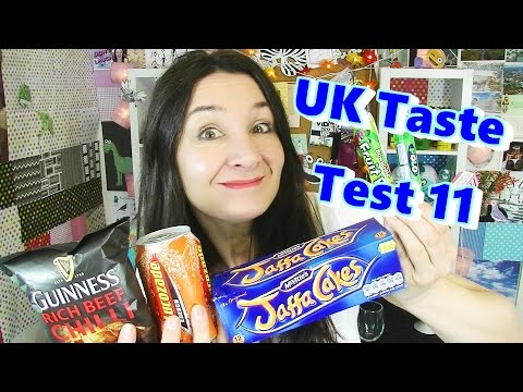 UK Sweets Taste Test 11 - Jaffa Cakes & more