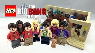 LEGO Minifigure The Big Bang Theory 21302 Set of 7