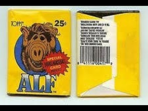 Ben's Pack A Day #30 1986 Topps ALF Series 1