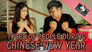 Types Of People During Chinese New Year