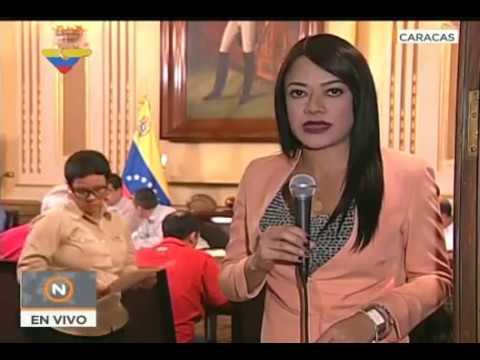 Presidente Nicolas Maduro en reunión con candidatos a gobernadores