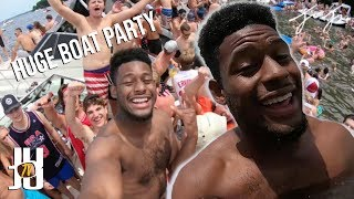 I crashed a giant boat party! SUBSCRIBE to me! ➜ http://bit.ly/2zyR...