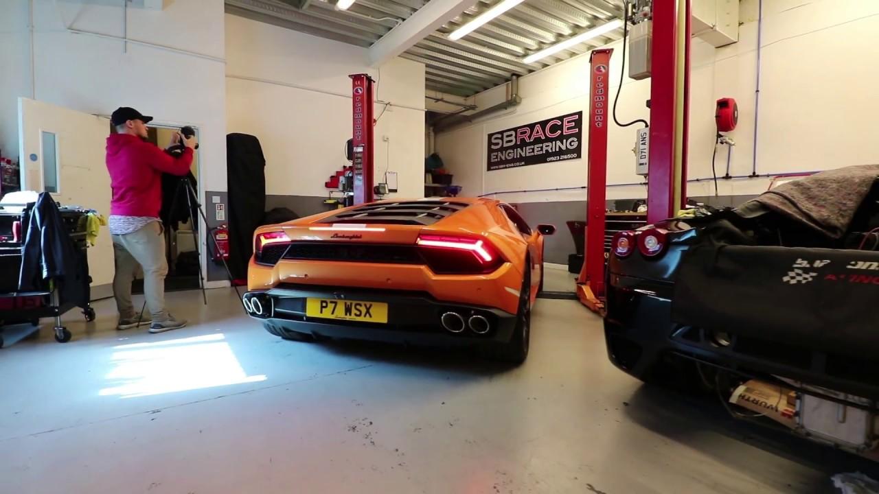 Brooke Race Exhausts - Lamborghini Huracan Inconel Exhaust - Paul Wallace  SOL & SB Race Engineering