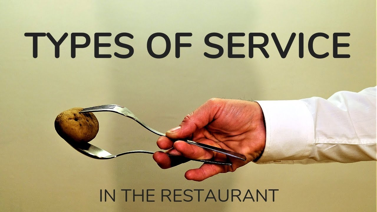 Types of services in the restaurant! French, American, Russian restaurant service. Waiter training. - YouTube