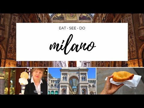 TOP Things To EAT, SEE And DO In Milan - Italy Travel Guide!