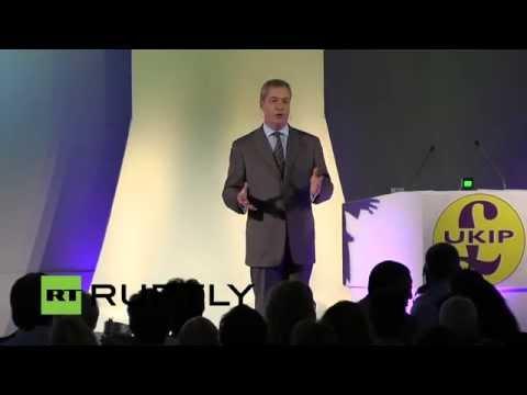 LIVE: Farage speaks at UKIP national conference