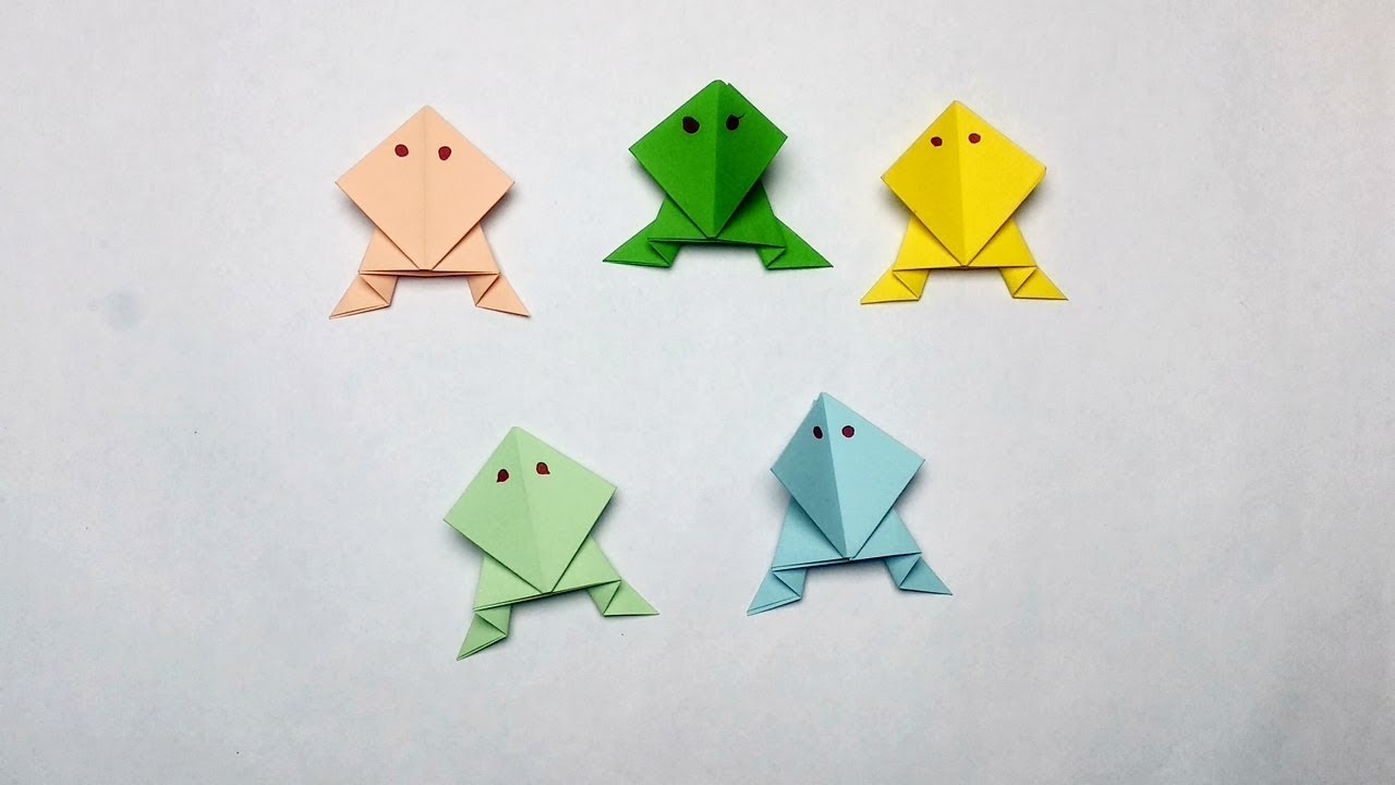 3d Origami Animals Butterfly Instructions Livre Racer Muneji Easy Frog How To Make Of Paper