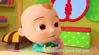 Yum Yum Vegetables Song   CoCoMelon Nursery Rhymes & Kids Songs