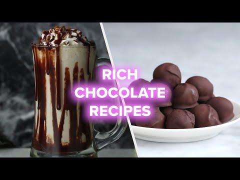 7 Rich And Dark Chocolate Recipes • Tasty Dessert Videos