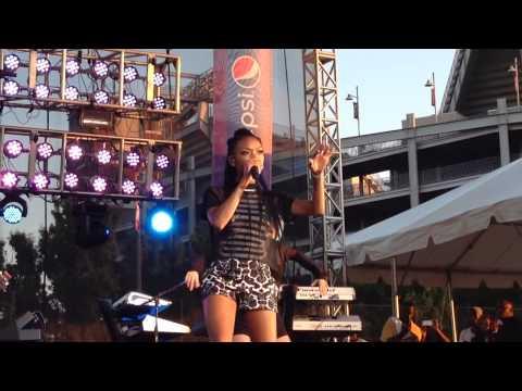 "Brandy "" Full Moon "" Live African American Festival 2014"