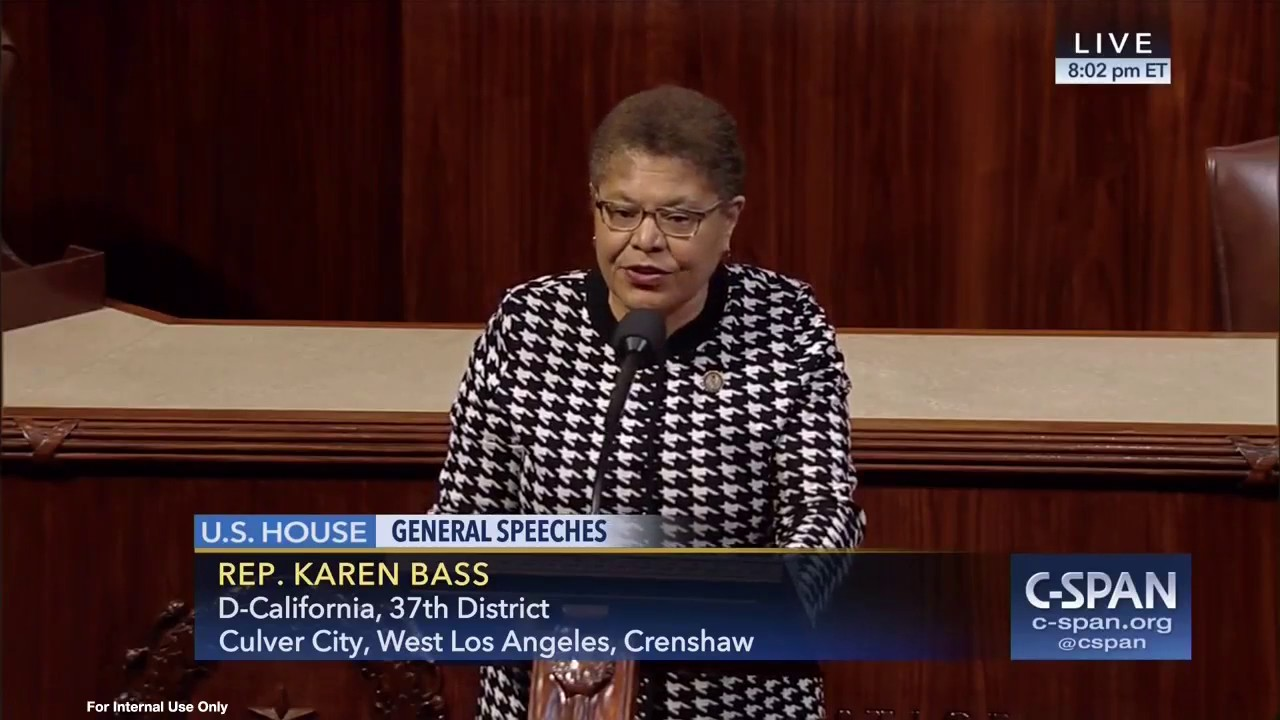 Rep Bass Answers Trump On House Floor We Have A Lot To
