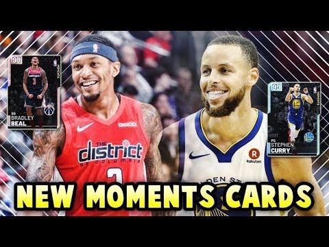 NBA 2K19 NEW PINK DIAMOND BEAL & DIAMOND STEPH CURRY!! | 8 NEW MOMENTS CARDS IN NBA 2K19 MyTEAM