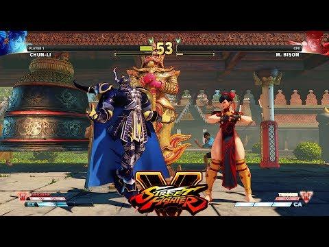 Street Fighter V AE Chun Li vs M  Bison PC Mod