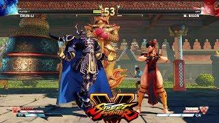 Street Fighter V AE Chun Li vs M. Bison PC Mod