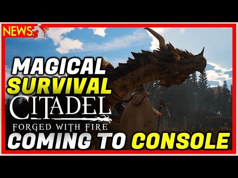 NEW MAGIC Survival Game Citadel: Forged With Fire Coming To Consoles!