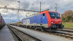 Führerstandsmitfahrt Bözberg mit SBB Cargo Re 474
