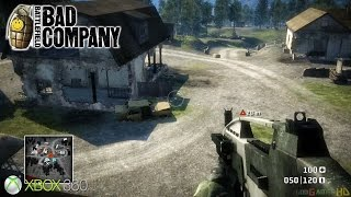 Battlefield: Bad Company - Xbox 360 / Ps3 Gameplay (2008)
