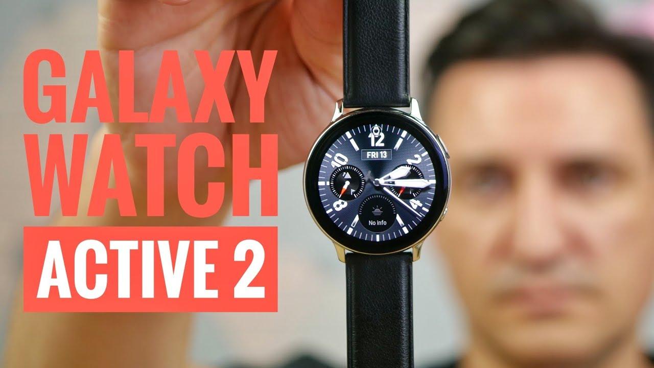 Samsung Galaxy Watch Active 2 - Așa trebuia să fie de la început!