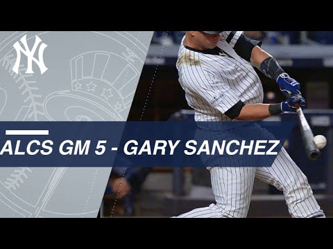 ALCS Gm5: Sanchez homers during big night at the dish