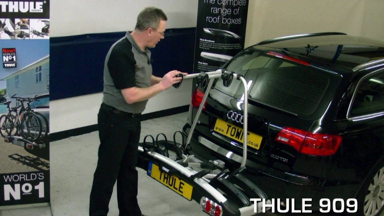 Thule Bike Rack Cycle Carrier Review Youtube