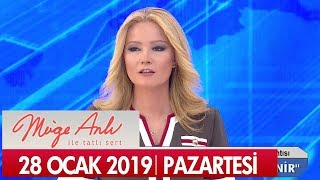 Müge Anlı ile Tatlı Sert 28 Ocak 2019 Pazartesi - Tek Parça