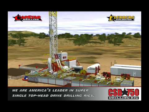 Capstar-RIGUP 3D Animation - Land Drilling Animation