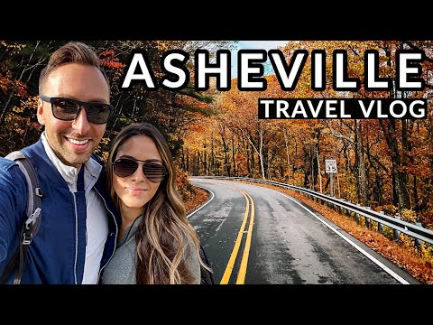 ASHEVILLE TRAVEL VLOG - THE BILTMORE & BLUE RIDGE PARKWAY: Travel Vlog #1