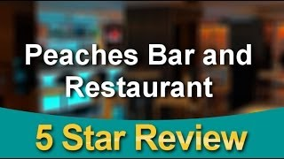 Peaches Bar and Restaurant Kenton 02089077518 | Outstanding           5 Star Review by Prem G.