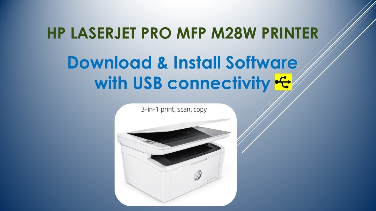 How to connect the MFP 68
