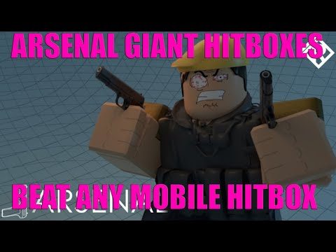 HOW TO GET BIGGER ARSENAL HITBOXES ON PC / BIGGER THAN MOBILE / ROBLOX SCRIPT HACK EXPLOIT