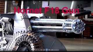 M61 Vulcan Gatling  Hornet F18 Gun Maschinengewehr