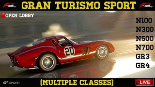 GT Sport - Multiple Classes - Online Lobby
