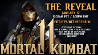 Mortal Kombat 11 - Community Launch Event Details! Characters Reveals + Story!