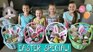 THE WEISS LIFE EASTER MORNING SPECIAL!   EASTER BASKET HAUL AND HUGE EASTER EGG HUNT 2017