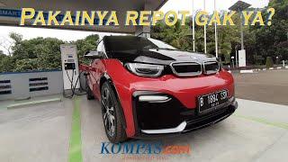 Perdana Coba Mobil Listrik BMW i3s