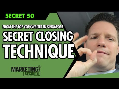 Secret #50: The Secret Closing Technique I Learned From One Of The Top Copywriters In Singapore