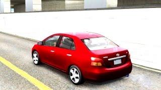 2008 Toyota Vios Yaris Sedan | #188 New Cars / Vehicles in GTA San Andreas [ENB]