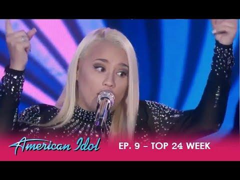 Gabby Barrett: Country Girl Takes US TO CHURCH!! | American Idol 2018
