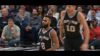 Patty Mills full highlights vs Blazers | 24 Dec 2016