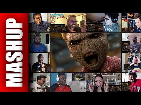 Guardians of the Galaxy 2 Teaser Trailer Reactions Mashup