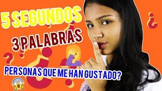 3 PALABRAS 5 SEGUNDOS   Angie Calderon