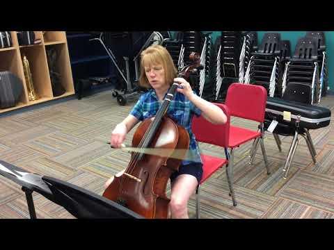 Sailor's Song Cello Part