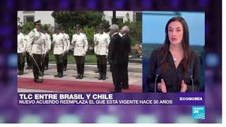 Brasil y Chile firman acuerdo de libre comercio