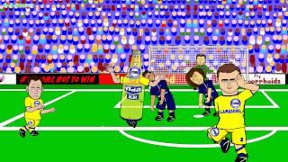 🇫🇷PSG vs CHELSEA🚍 (Champions League Intro Theme 2014-2015 Titles Song Parody Football Cartoon)